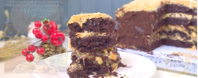 Торт сникерс без пропитки