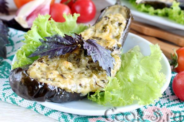 Баклажаны, запеченные с сыром, по-балкански