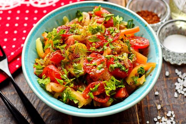 Салат с жареными баклажанами – бесподобный армянский рецепт