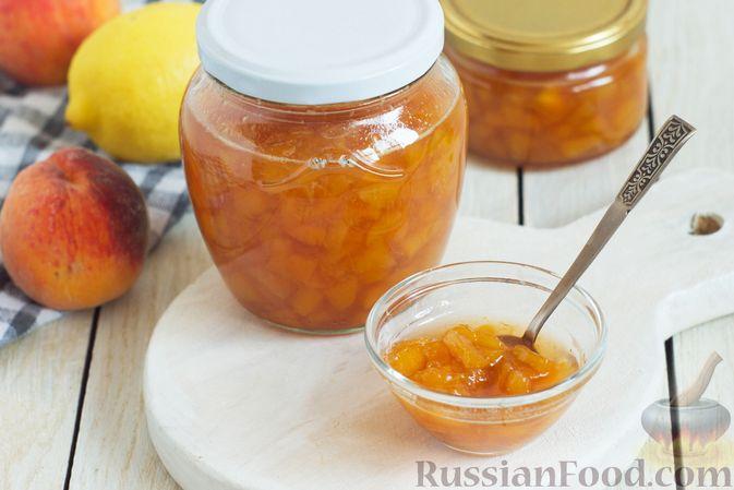 Персиковое варенье с амаретто и пектином