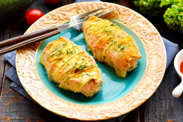 Ленивые голубцы с кабачками – очень сочно и вкусно, мне нравятся даже больше, чем с капустой