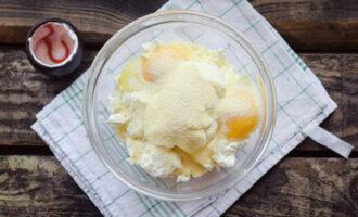 Творожная запеканка с яблоками - два лучших рецепта с пошаговыми фото