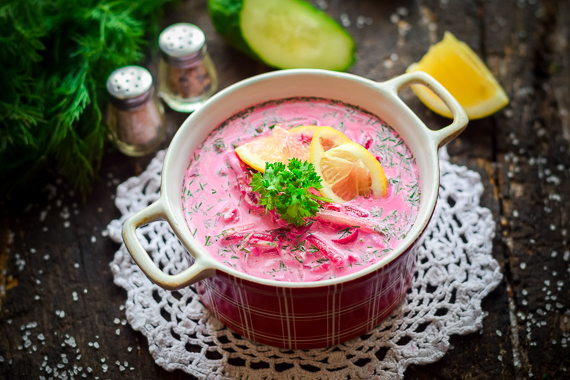 Свекольник холодный классический - очень простой рецепт с пошаговыми фото