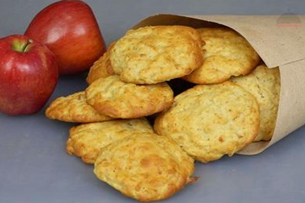 Очень быстрое яблочное печенье