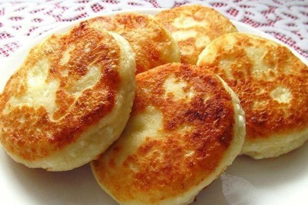 Сырники на молоке на завтрак